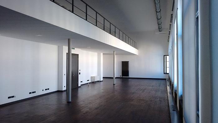 Wandgestaltung Galerieraum