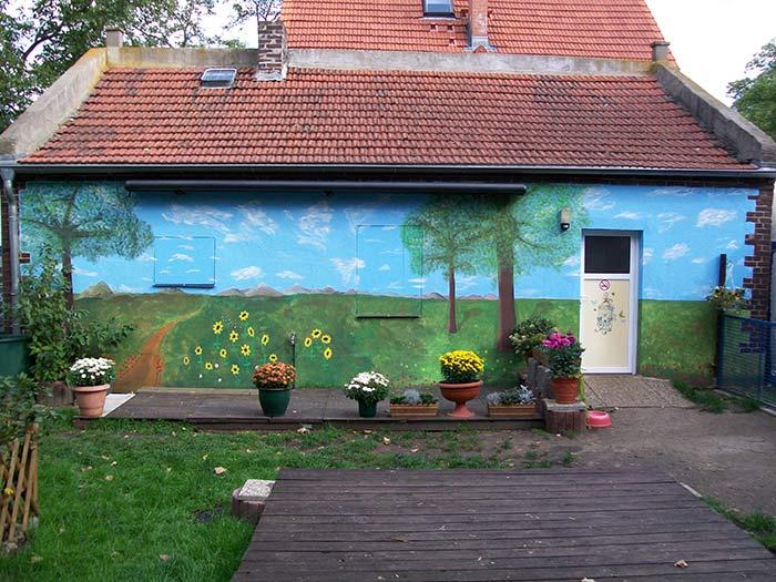 Fassadenanstrich Gnadenhof für Tiere e.V.